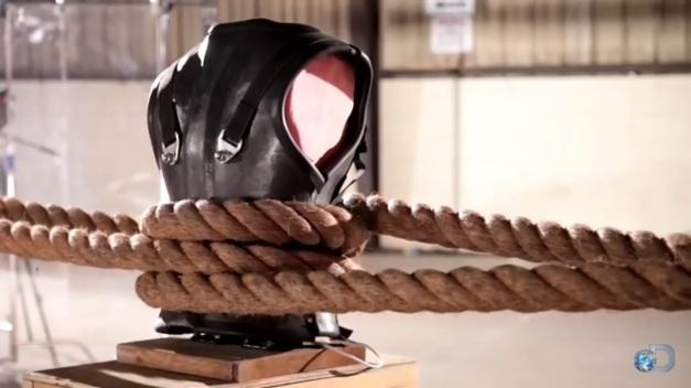 Carbon fiber torso shell. Photo Credit: Youtube.com